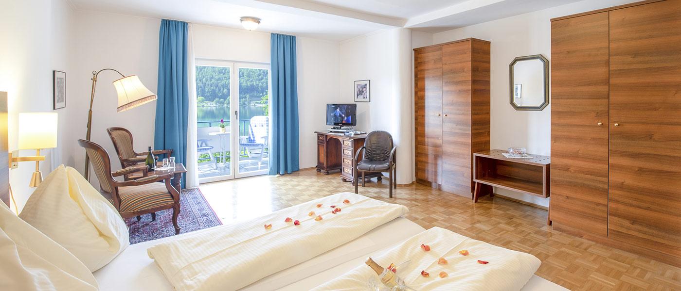 Wunderschöne Zimmer mit Seeblick